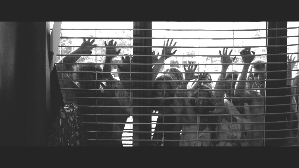 zombies at window