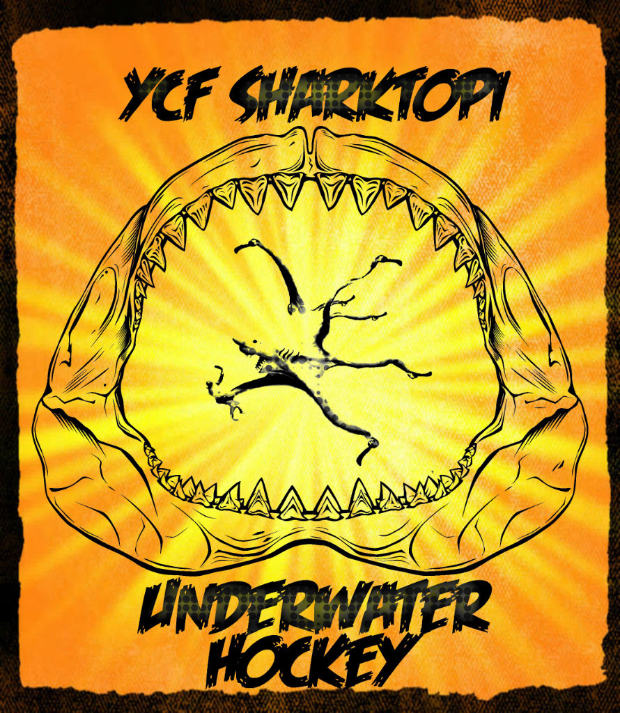 Proposal for the YCF team mascot.  SHARKTOPI  very cool.  I would wear this on a T-shirt how about you?